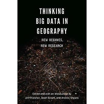 Pensar grande volume de dados em Geografia - novos Regimes - nova pesquisa por Jim Tha