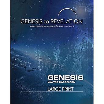 Genesis to Revelation: Genesis deelnemer boek [grote Print]: een uitgebreide verkenning van de vers-door-vers van de Bijbel (Genesis to Revelation)