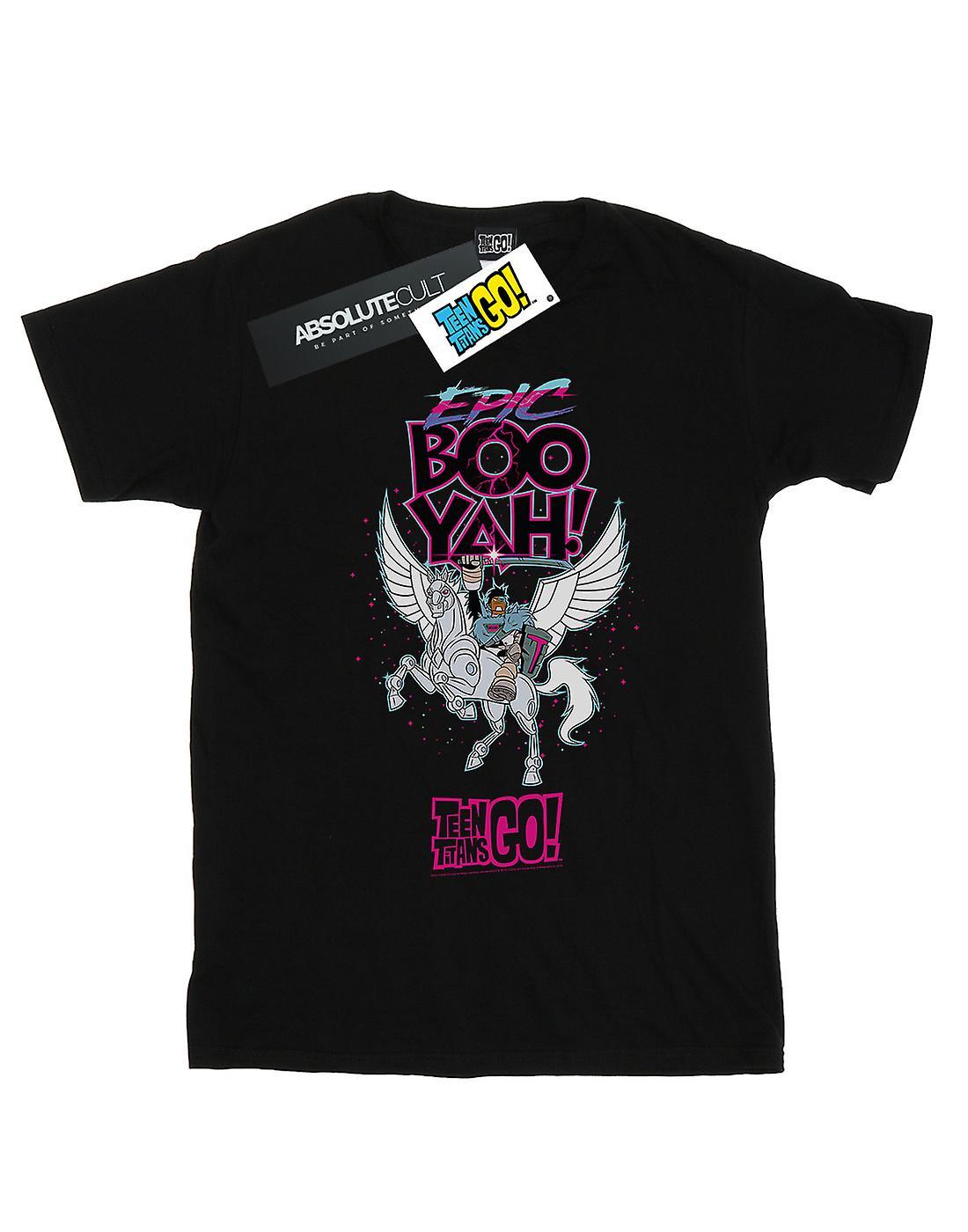 DC Comics Boys Teen Titans Go Epic Boo Yah T-Shirt