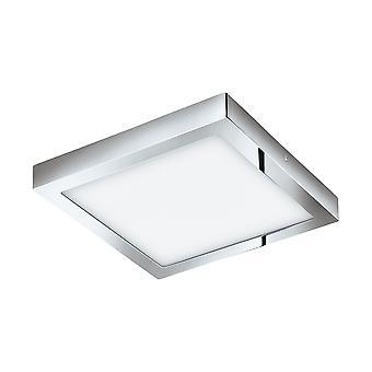 EGLO - Fueva 1 fyrkantig krom badrum tak ljus EG96059