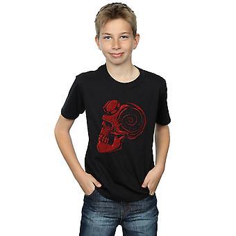Inferno de rapazes Pepe Rodriguez de uma t-shirt caveira