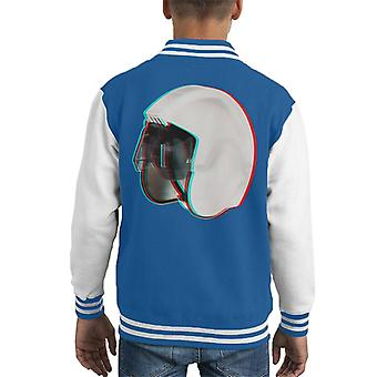 Original Stormtrooper Rebel Pilot Stunt Helmet 3D Effect Kid's Varsity Jacket