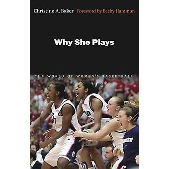 Why She Plays The World of Womens Basketball by Baker & Christine A.