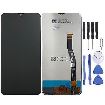 Dla Samsung Galaxy M20 M205FD 6,3 cala wyświetlacz LCD full urządzenia dotykowego części zamienne Naprawa czarny nowy