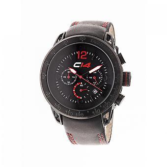 E2.1 - Carbon 14 - Quartz Chronograph - Black Calf Leather