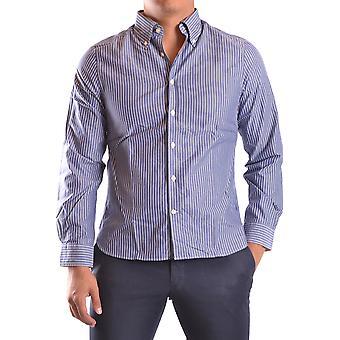 Gant Ezbc144056 Uomini's Camicia di cotone bianco/grigio