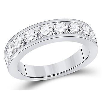 Diamond Wedding Band and Anniversary Ring 1.74 Carat (ctw G-H, SI3-I1) in 14K White Gold