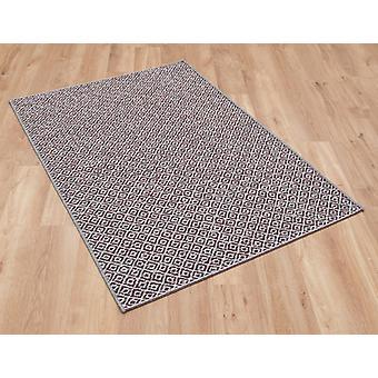 Brighton 098 0707 1010 alfombras de rectángulo púrpura liso/casi llanura alfombras