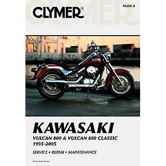 Kawasaki Vulcan 800 & Vulcan 800 Classic - 1995-2005 (clymer Motorcyc