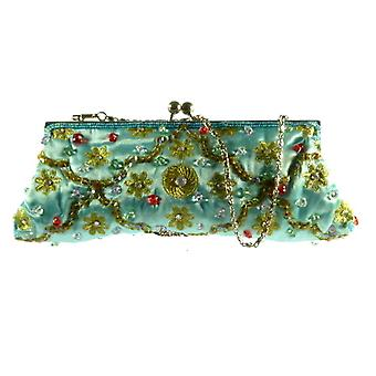 Raw Silk Clutch Bag 102 by Silk Sauvage at Pashmina & Silk