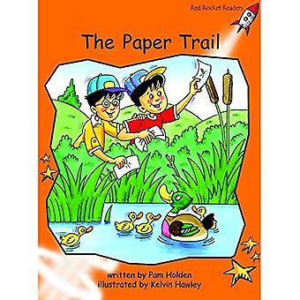 De papieren parcours: niveau 1: vloeiend (rode raket lezers: fictie set A)