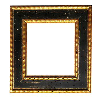 7, 5x7, 5 cm or 3x3 inch, number 2, photo frame in gold
