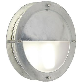 Malte  -  Galvanised Circular Outdoor Wall Light  - Nordlux 21841031