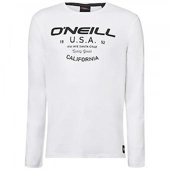 O'Neill LM Olsen camiseta de manga larga, súper blanca