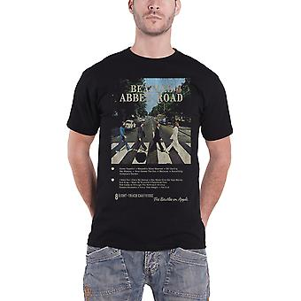 Le Beatles T Shirt Abbey Road 8 Track nouveau officiel Mens noir