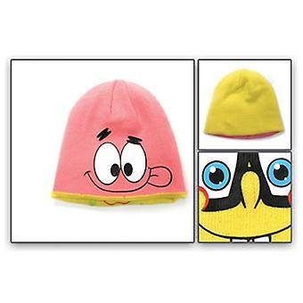 Beanie Cap - Spongebob Square Pants - New Patrick 2-Face Hat Hat 66019spo