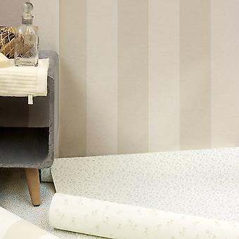 A.S. Creation AS Creation Liberte Striped Pattern Pastel Color Textité Wallpaper 314055
