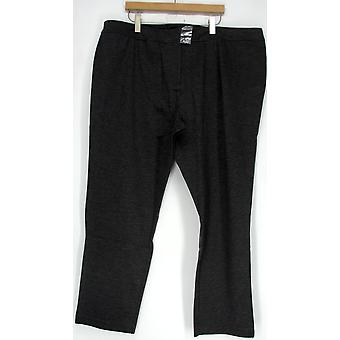 Motto Essentials Stretch Zip Front Straight Charcoal Gray Pants A203369