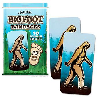 Beni Personaggio - Archie McPhee - Bandage - Bigfoot w/Tin 12477