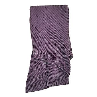 Pleated Scarf - Grape by Peony