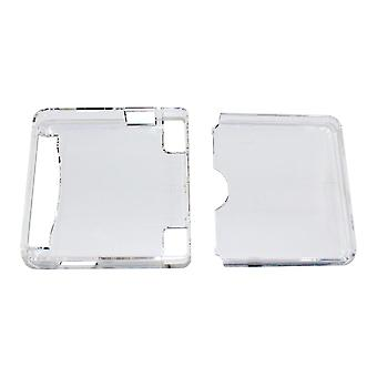 Crystal clear case shell protective hard cover for nintendo game boy advance sp