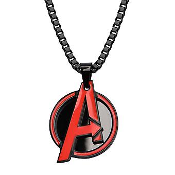 Avengers Red A Pen Necklace