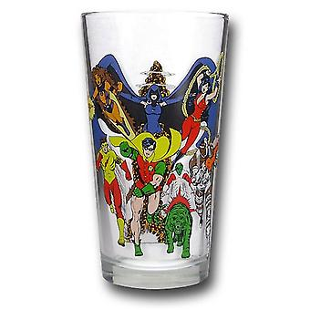 Teen Titans Pint Glas