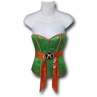TMNT Michelangelo Costume Corset