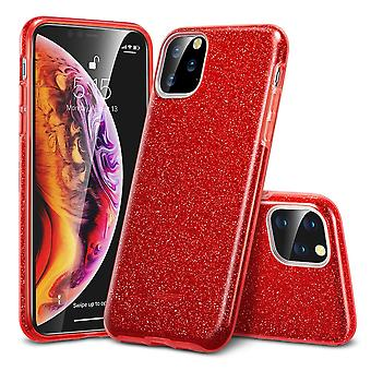ESR Makeup Glitter Case pour iPhone 11 Pro (5.8)-Rouge