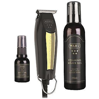Wahl Detailer Trimmer Black & Gold Limited Edition Set
