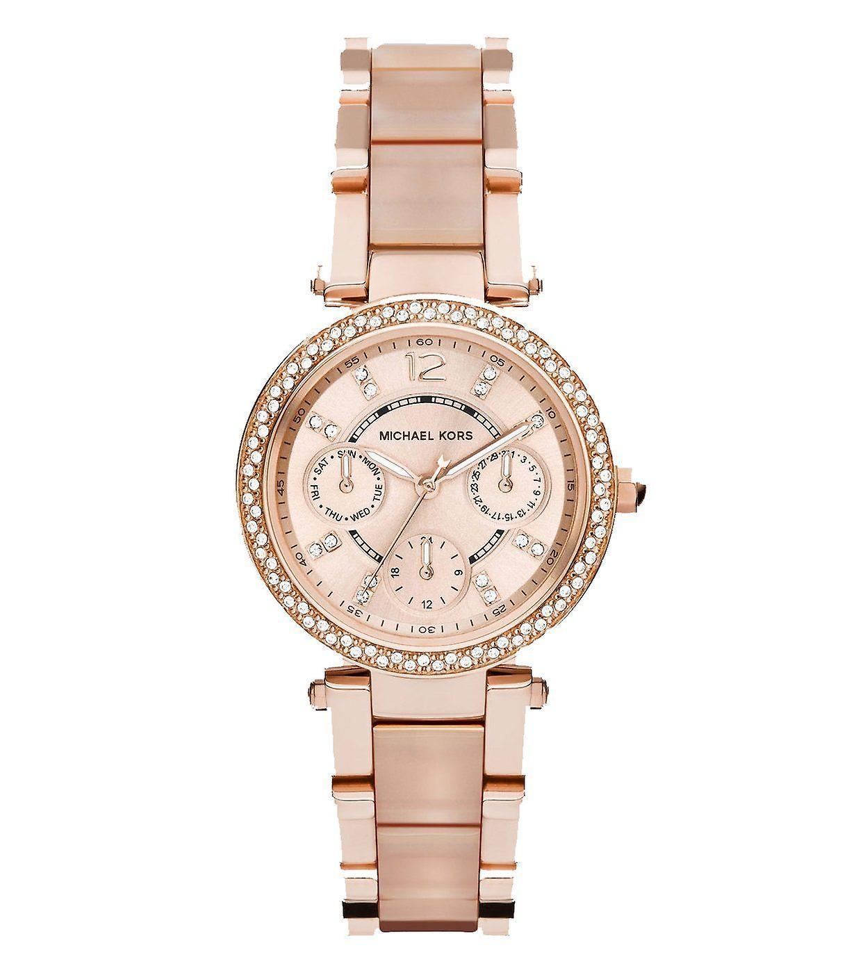 Michael Kors Ladies' Mini Parker Chronograph Watch MK6110
