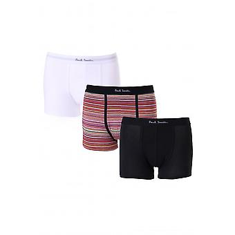 Paul Smith Accessories Mens 3 Pack Striped Trunks