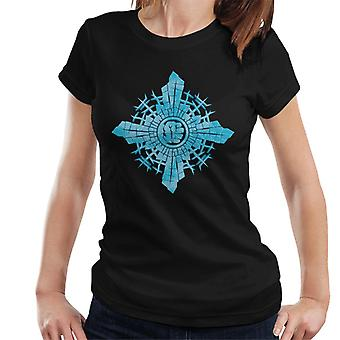 Marvel Christmas The Avengers Hulk Smash In Snowflake Women's T-Shirt