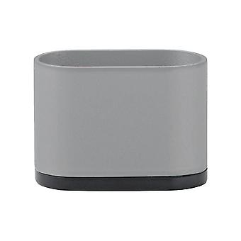 Muebles ovalados grises Pierna 5 cm