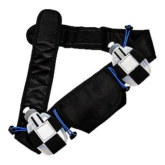 Smart sports belt with water bottles
