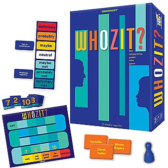 Games - Ceaco Gamewright - Whozit? - The Cooperative Guess Who Game New 7120