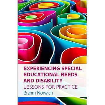 Experiencing Special Educational Needs and Disability Lesso by Norwich