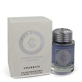 Charriol Infinite Celtic de Charriol Eau De Toilette Spray 3.4 Oz (hommes) V728-548013