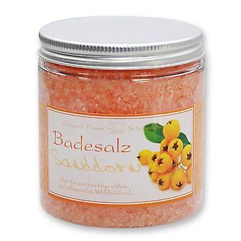 Florex bath salts Bath additive sea buckthorn for a fruity-fresh and nourishing well-being bath 300 g