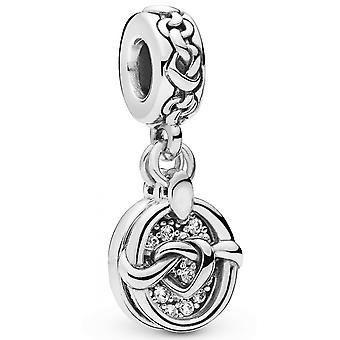 Charms Pandora Love 798095CZ-under Links av? Kjærlighet i sølv