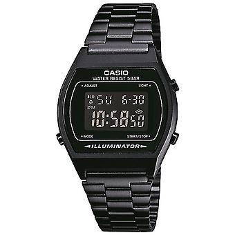 Reloj Casio con pantalla Digital negro y pulsera de acero inoxidable