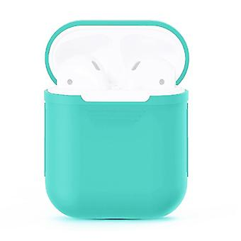 Para Apple Airpods Storage Bag Mint Green Silicone Protective Box