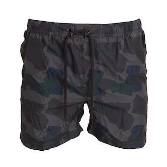 Urban Surf Mens Kamouflage Skriv ut Quick Dry Swim Shorts