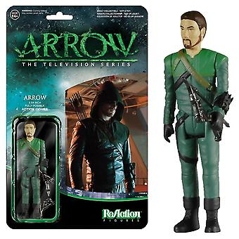 Arrow Green Arrow avslöjade SDCC 2015 USA exklusiv reaction