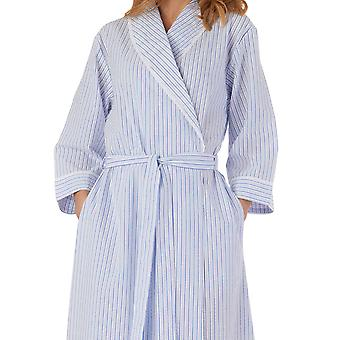 Slenderella HC55228 Naiset's Raidallinen kaapu puku