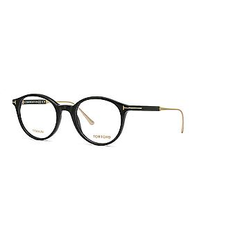 Tom Ford TF5485 001 Occhiali neri lucidi