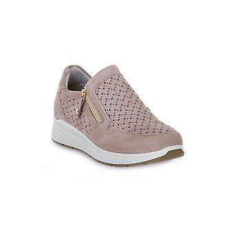 Enval soft alpha taupe shoes