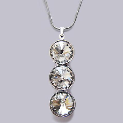 Necklace with Crystal pendant PMB 4.4