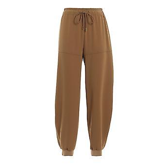 Chloé Chc20spa611373b5 Women's Green Cotton Pants