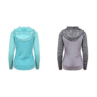 AWDis Just Cool Womens/Ladies Girlie Cool Contrast Zoodie